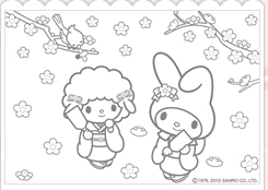 Entry 11993418694 on hello kitty coloring pages