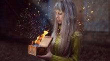 宝箱から浄化の炎