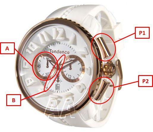 テンデンス腕時計クロノグラフ