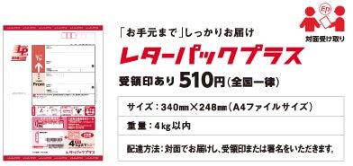 レターパック販売店 / 赤(プラス)と青 ...