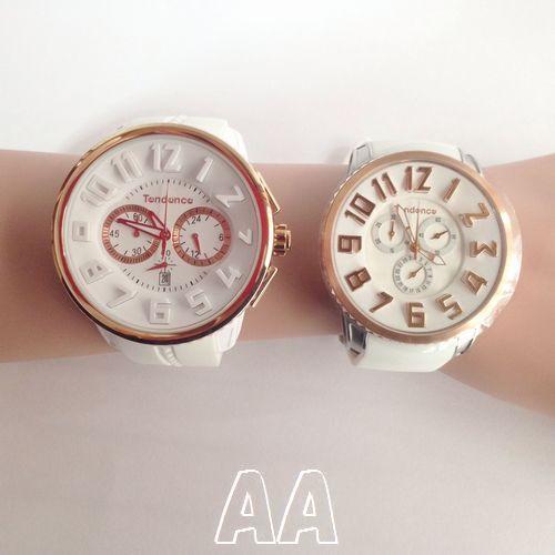 スリム腕時計とガリバー腕時計の大きさ正面比較