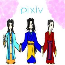 曹芳(左)、曹髦(真ん中)、曹奐(右)