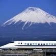 「新幹線で一人ビール…