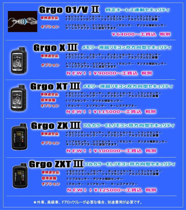 Grgoカーセキュリティ