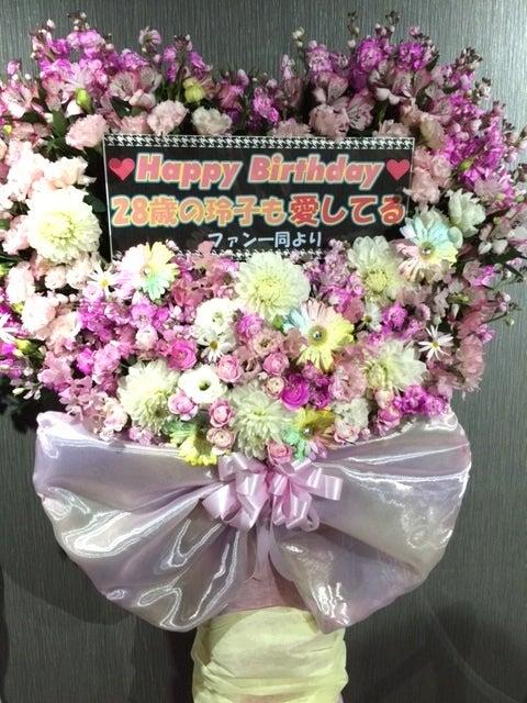 玲ちゃんスタンド花