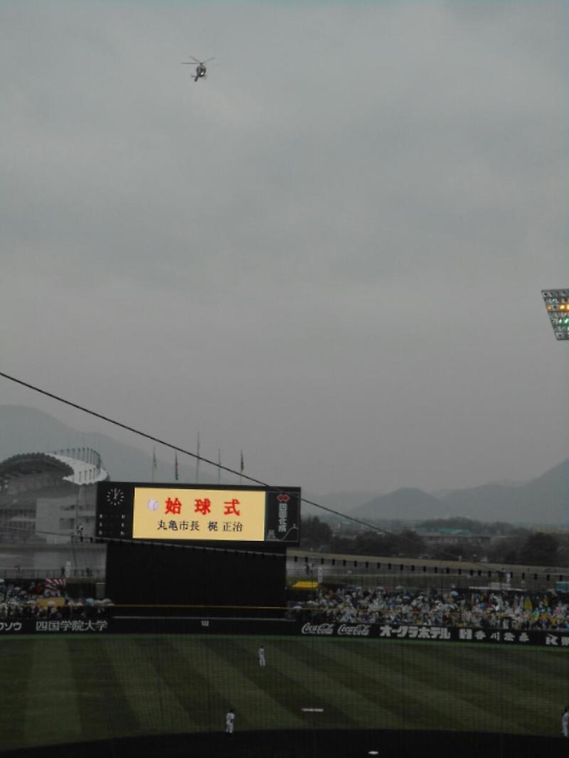 ふじものブログ丸亀市民球場コメント