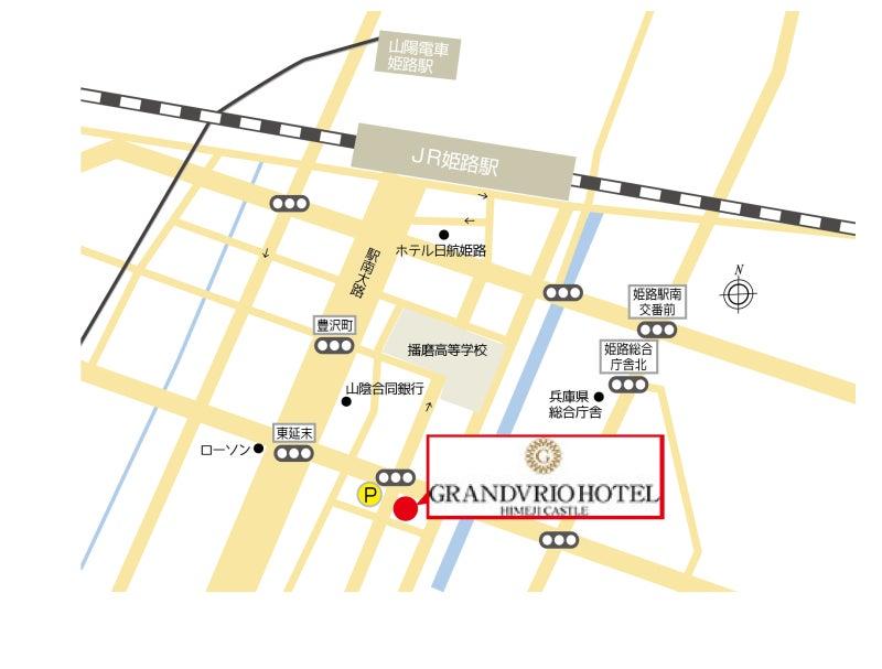 キャッスルホテル地図