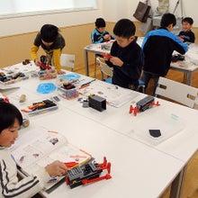 ロボット教室の達成感