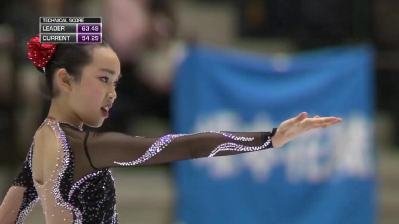 世界ジュニア選手権 女子フリー結果 やっぱりスケートが好き。