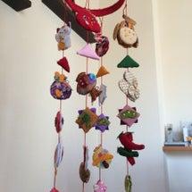 吊るし飾り完成