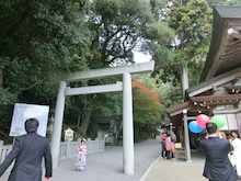 141115多度神社神楽殿横