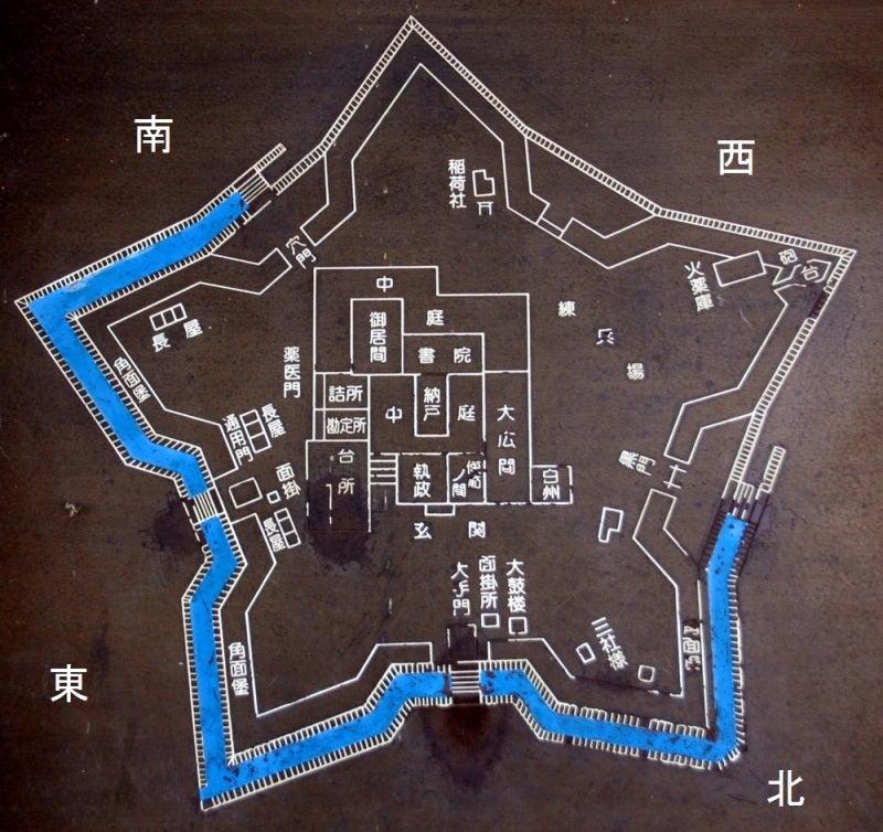 龍岡城/②案内図(改)