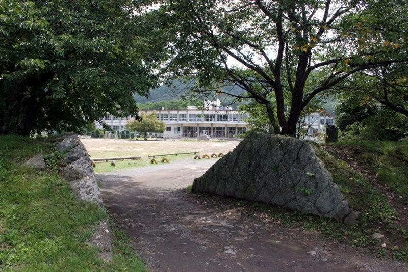 龍岡城/④城内は小学校