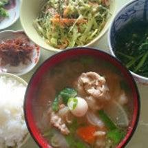 朝ご飯☆豚汁