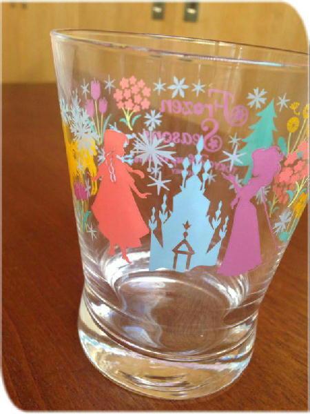 アナ雪グラス
