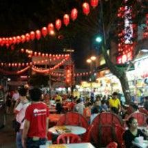 マレーシア屋台街。