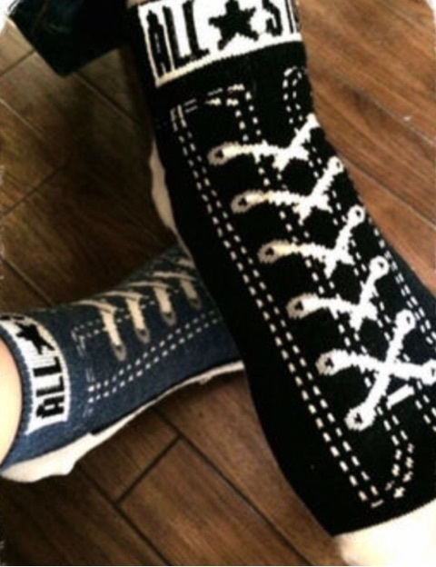 しまむらの「コンバース靴下」が可愛いすぎる♡