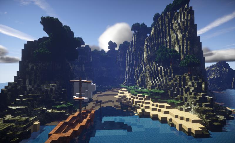 孤島Minecraft