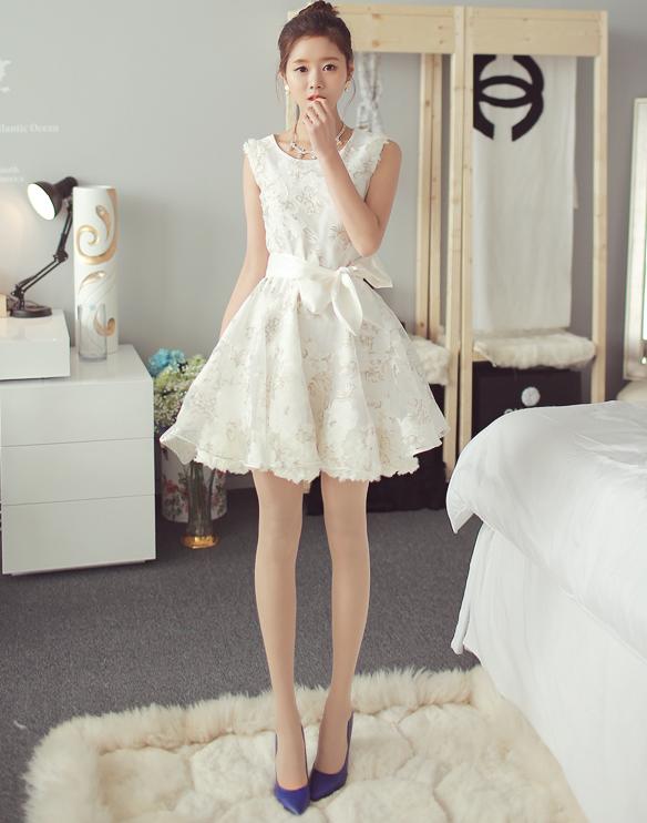 花柄ワンピースで2015を楽しもう♪オルチャンモデルの着こなし☆ オルチャンスタイル オルチャンファッション通販サイト 店主のブログ