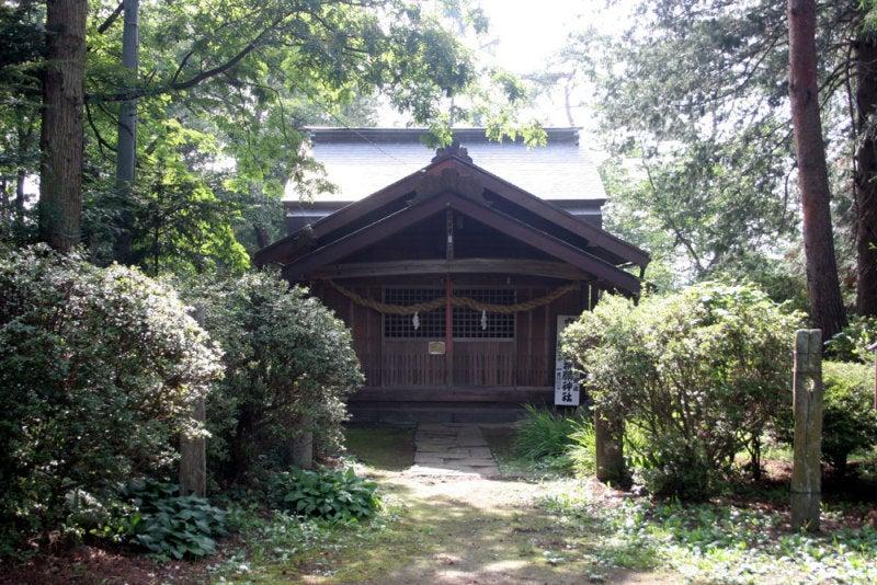 駒形城/④駒形神社社殿