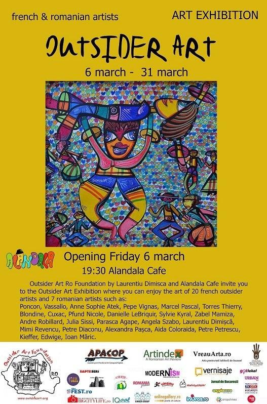 Outsider Art in Alandala Cafe