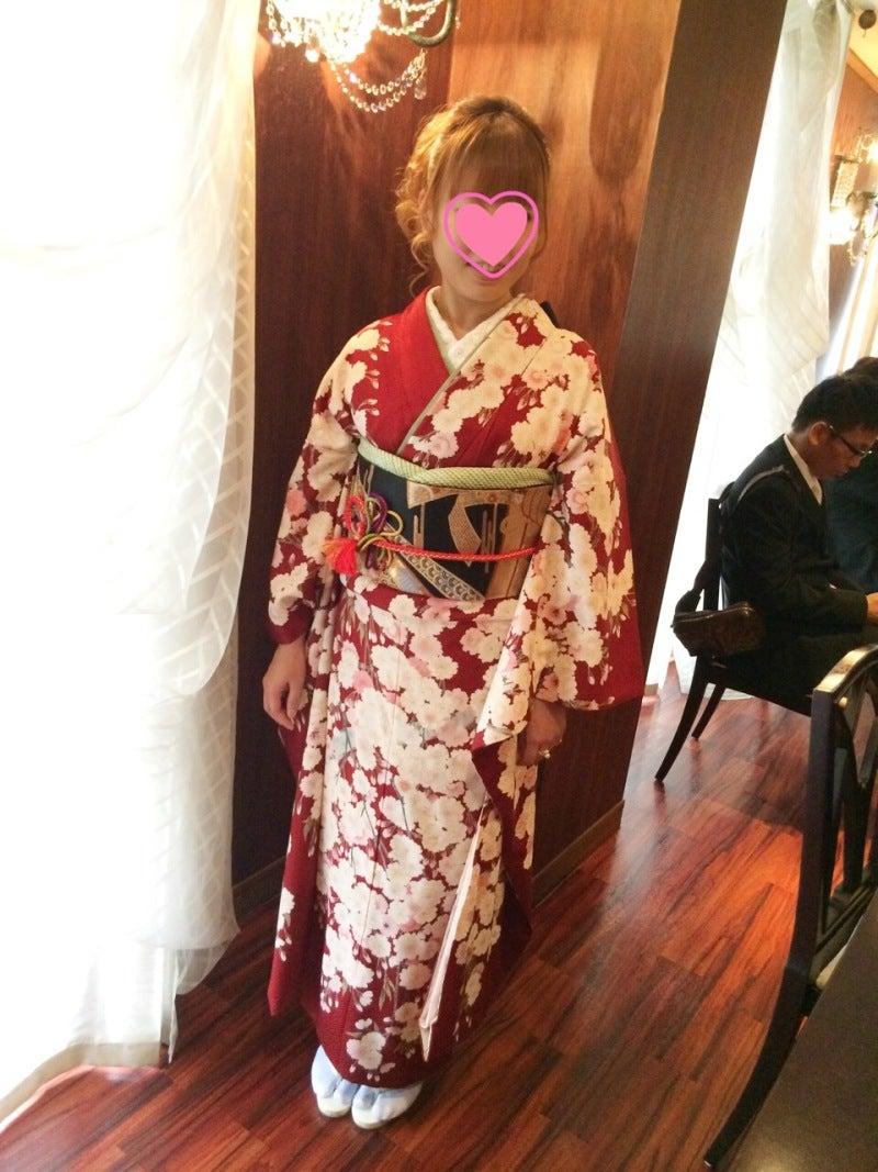 豪華絢爛な結婚式に振袖★着物写真画像