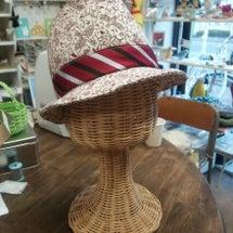 小林ひろしさんの帽子…
