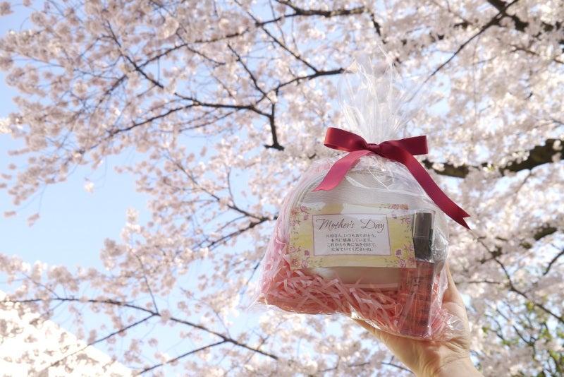 ギフトセットと桜