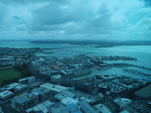 skytower view