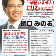 武蔵野市議会議員選挙…