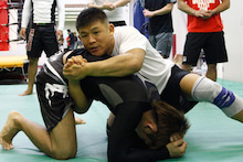 北岡悟格闘技セミナー2015.4.29