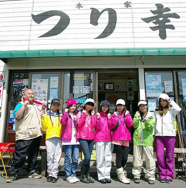 釣りアイドル〝つりビット〞の東京湾アジ