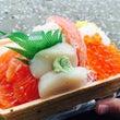 海鮮丼(*´▽`*)