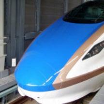 4月10日 新幹線に…