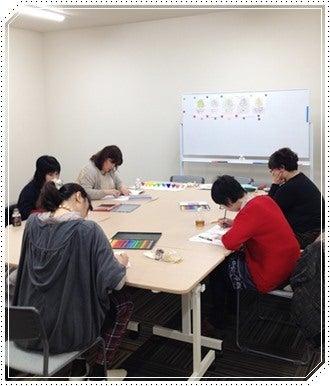 4/11ぬりえ風景