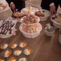結婚式レポ☆デザート…