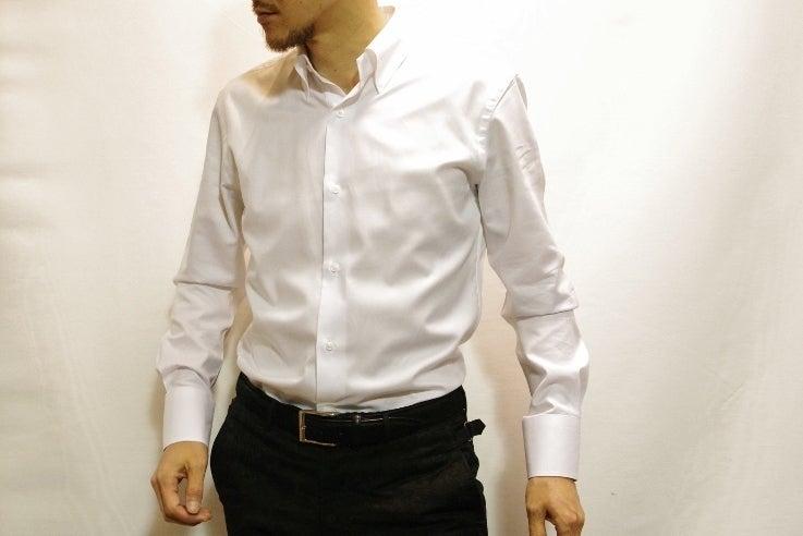 パールオックスホワイトシャツ