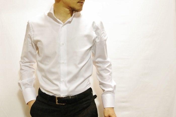 ホリゾンタルカラーシャツ