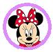 ミニーマウスのアイコン