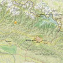 ネパール首都近辺震源…