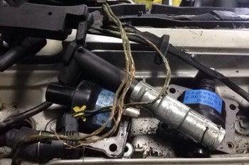 W124エンジンハーネス