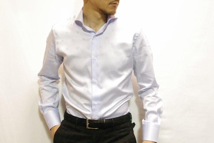 サックスブルースカルシャツ