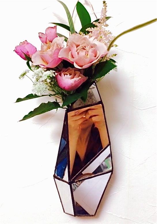 Mie ステンドグラス 花瓶