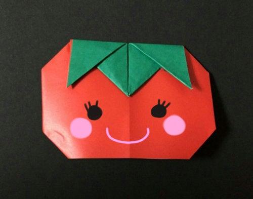 折り 折り紙 折り紙 野菜 : ameblo.jp