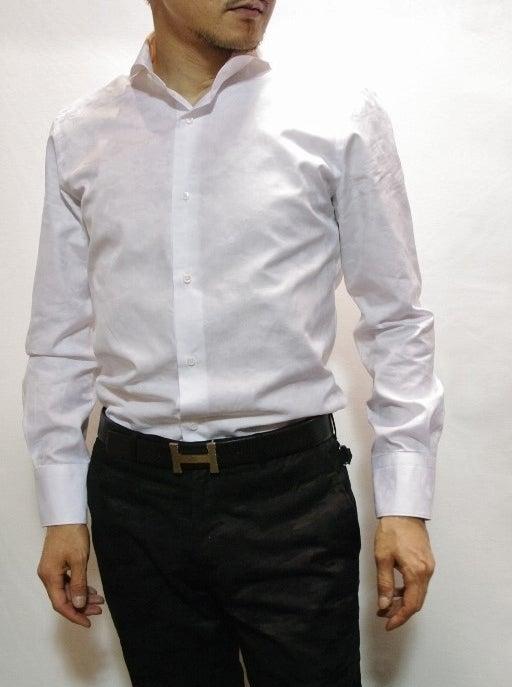 カモフラジャガードシャツ