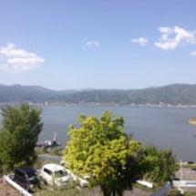 今、諏訪湖SA
