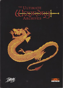 The Ultimate Wizardry Archives Manual Front