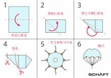パラシュートの作り方