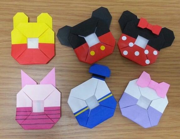 折り 折り紙 折り紙 キャラクター ディズニー : ameblo.jp