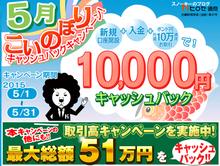 ヒロセ通商10000円キャッシュバック